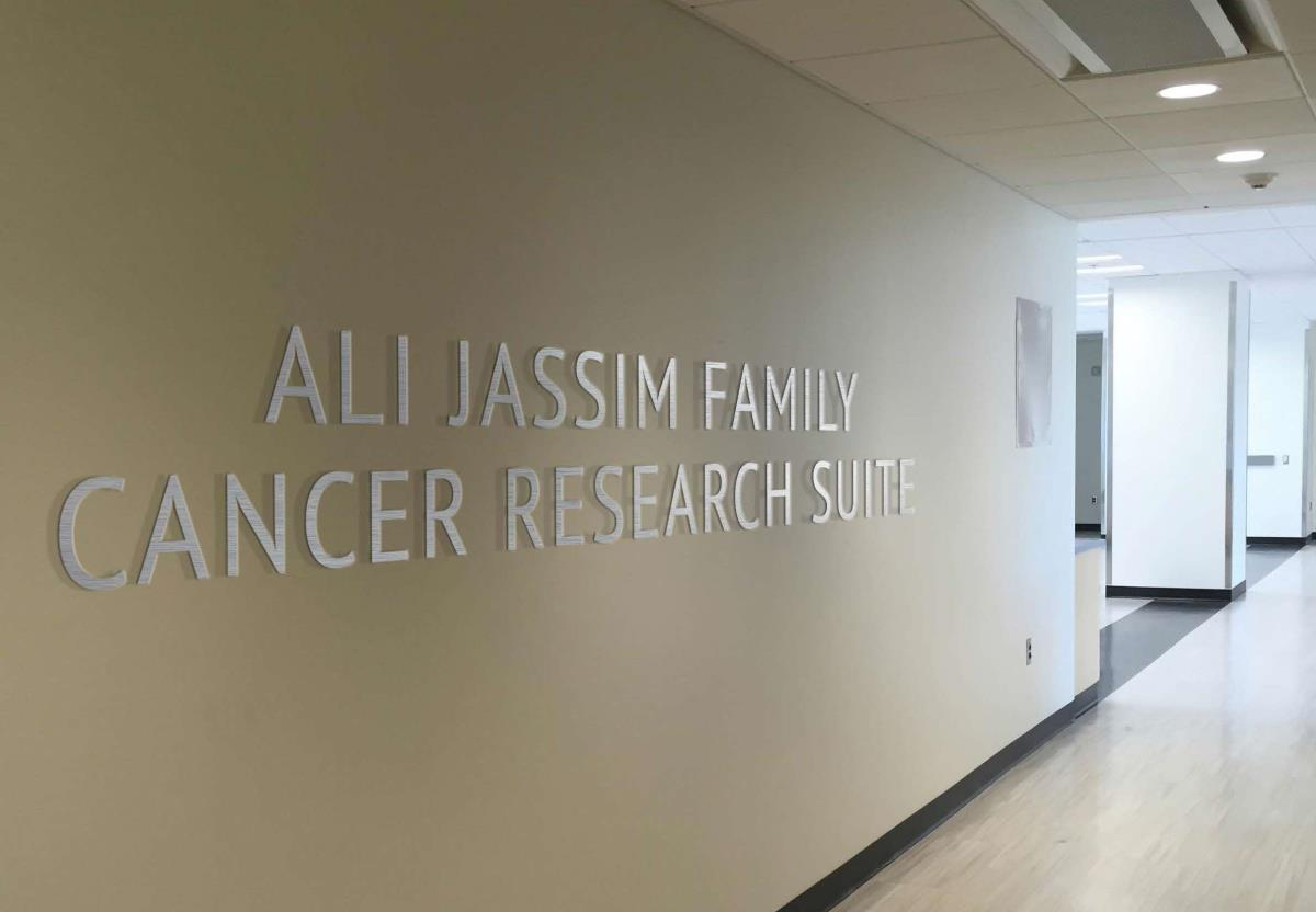 Ali Jassim Family Cancer Resesarch Suite