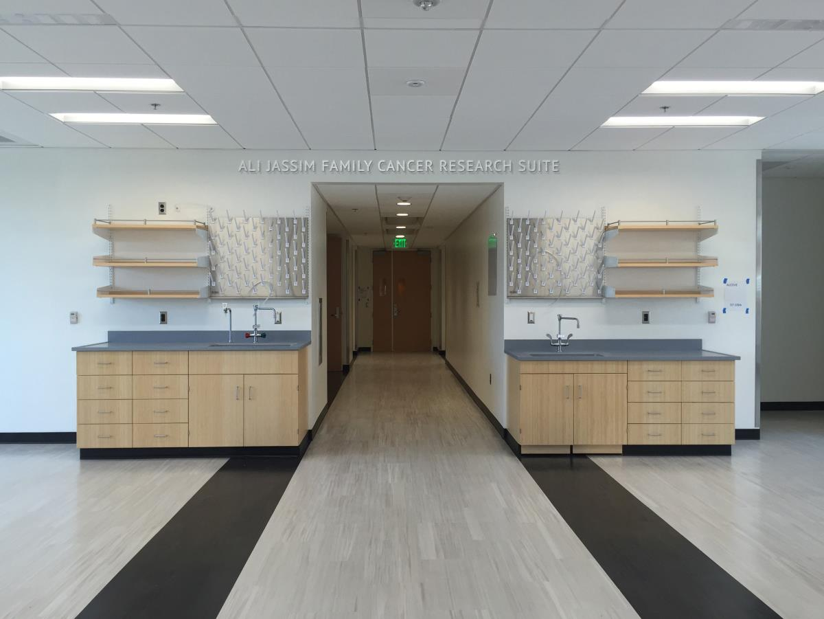 Ali Jassim Family Cancer Research Suite_interior