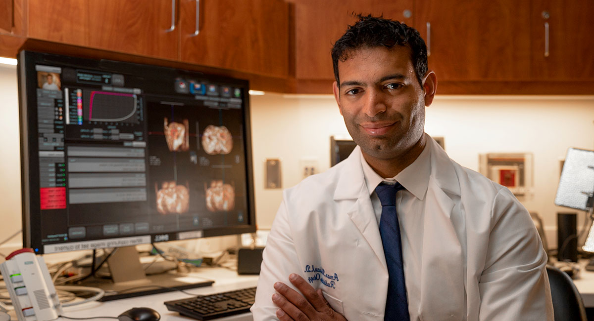 UCLA Jonsson Comprehensive Cancer Center researcher Dr. Amar Kishan