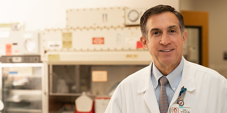 UCLA Jonsson Comprehensive Cancer Center researcher Dr. Gary Schiller